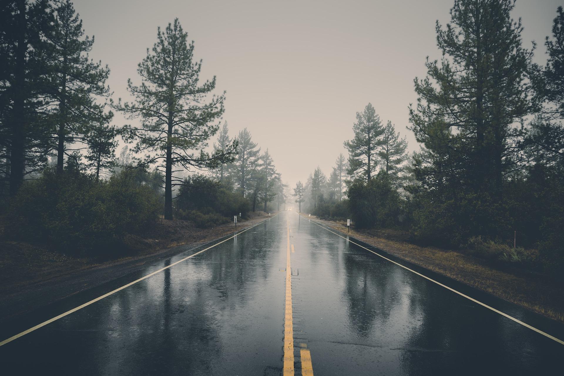 雨の日にバイクを運転する時の4つの注意点について