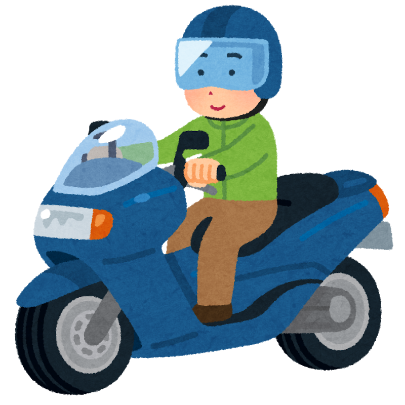 AT二輪免許の教習では転倒時の足のケガに注意が必要です。